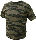 T-shirt-Fostex-camo--Tiger-stripe