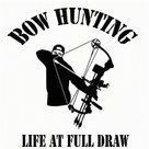 Sticker-Bowhunting-Life-at-full-draw-USA-15x14-cm