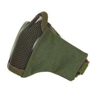 Airsoft face mask nylon/mesh groen